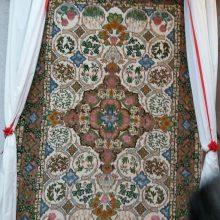 رونمایی از نخستین فرش دستباف با طرح گیلان