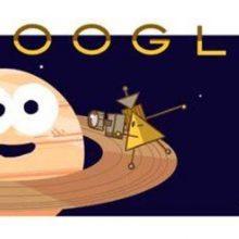 تغییر لوگوی گوگل به افتخار کاسینی