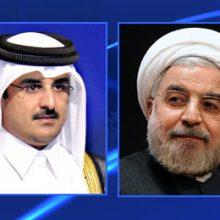 رییس جمهور در تماس تلفنی با امیر قطر با تاکید بر ضرورت همکاری کشورهای منطقه برای استقرار صلح، ماه مبارک رمضان را ماه تقویت برادری میان مسلمانان برشمرد