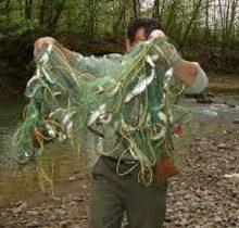 کشف و ضبط 37 ادوات صید غیر مجاز در بندرانزلی