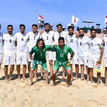 تیم ملی فوتبال ساحلی ایران از صعود به فینال جام جهانی ٢٠١٧ بازماند