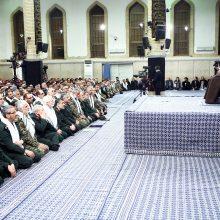 حضرت آیتالله خامنهای رهبر معظم انقلاب اسلامی در دیدار هزاران نفر از معلمان سراسر کشور، آموزش و پرورش را زیرساخت اصلی علم و تحقیق در کشور دانستند