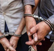 فرمانده نیروی انتظامی بندر انزلی سرهنگ پاسدار هرمز عشقی بعد از ظهر سه شنبه از دستگیری دو سارق حرفه ای مسلح در این شهرستان خبر داد.
