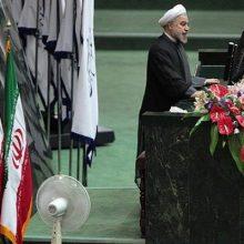 روابط عمومی مجلس شورای اسلامی :مراسم تحلیف حسن روحانی به عنوان رئیسجمهور دوره دوازدهم در روز شنبه ۱۴ مرداد در محل صحن مجلس شورای اسلامی انجام میشود.