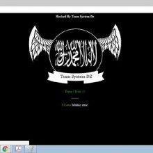 از ساعات اولیه بامداد امروز (شنبه)، سایتهای خبرگزاری میراث آریا (chtn.ir) و پورتال سازمان میراث فرهنگی (ichto.ir) مورد حمله هکرهای داعش ناشناس قرار گرفتند.
