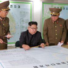 رسانه های دولتی کره شمالی اعلام کردند کیم جونگ اون رهبر کره شمالی امروز اعلام کر که کره شمالی در حال حاضر برنامه ای برای حمله به جزیره گوام ندارد.