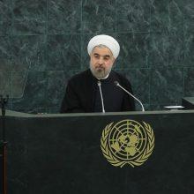 حسن روحانی در نشست خبری خود در نیویورک، پس از سخنرانی در مجمع عمومی سازمان ملل با بیان اینکه «ملت ایران در انتخابات بسیار پرشور و رقابتی