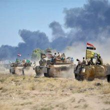 ساعاتی بعد از ورود نیروهای عراقی به کرکوک، درگیریهای شدیدی بین آنها و تروریستهای داعشی در شمال غرب این استان به وقوع پیوست.