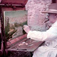 سیاستمدار انگلیسی که بیشتر او را با سمت نخستوزیری و پیروزی در جنگ جهانی دوم به یاد میآورند، هنرمندی پرکار بود که حدود ۵۴۴ تابلو؛ آخرین نقاشی «چرچیل»