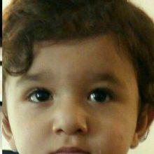 اهورا کودک سه ساله ای که روز گذشته به دلیل شدت جراحات وارده براثر تجاوز ناپدری اش در بیمارستان رازی رشت جانش خود را از دست.