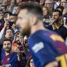 واکنش مسی به حضور بدل ایرانیاش در نیوکمپ در بازی شب گذشته لالیگا