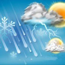 با نفوذ سامانه سرد و بارشی از اواخر وقت امروز ، آسمان گیلان با بارش باران ، وزش شدید باد و احتمال رعد و برق همراه است. کاهش دمای هوا در گیلان