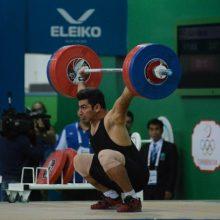 علی هاشمی وزنه بردار دسته ۱۰۵ کیلوگرم وزنهبرداری جهان قهرمان شد و توانست اولین مدال مجموع را برای ایران در این وزن بگیرد.