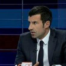 « لوئیس فیلیپ مادریا کائریو فیگو »، مرد طلایی فوتبال پرتغال و ستاره سالهای پیشتر بارسلونا و مادرید اسپانیا به ایران آمد، در یک برنامه تلویزیونی پرمخاطب