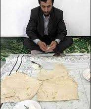 احمدینژاد و نون و پنیر و سکه!