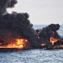 معاون امور دریایی سازمان بنادر کشور گفت: پلمب جعبه سیاه نفتکش سانچی و همینطور کشتی فله بر چینی باز و فرآیند رمزخوانی جعبه سیاه هر دو کشتی آغاز شد.