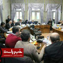 سی و سومین جلسه مشترک کمیسیون عمران و برنامه بودجه شورای شهر رشت ظهر روز پنجشنبه پنج بهمن در تالار شورا برگزار شد. جلسه مشترک کمیسیون عمران و بودجه