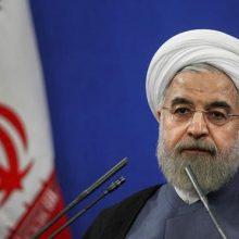 رییس جمهوری به تحریم کنندگان ایران نسبت به آوار مواد مخدر، بمب، تروریسم و مهاجرت در صورت آسیب دیدن توانایی ایران در حوزه مبارزه با مواد مخدر و تروریسم هشدار داد.