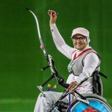 بانوی معلول تیراندازی با کمان کشورمان به عنوان بهترین ورزشکار معلول تیراندازی با کمان معلولان در سال ۲۰۱۷ انتخاب شد.