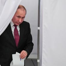 بر اساس گزارش راشا تودی، رأیگیری در تمامی ۹۷۰۲۷ حوزه اخذ رأی به پایان رسیده و روند شمارش آرا آغاز شده است. رییس کمیسیون مرکزی انتخابات روسیه گفت: