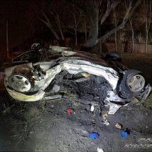 در این حادثه شعلههای آتش توسط آتشنشانان مهار شد اما پس از بررسی اولیه، جنازه های کاملا سوخته دو مرد که در خودرو گرفتار شده و قادر به خروج نشده بودند، در میان بقایای سوختهی اتاقک خودرو پیدا شد.