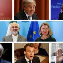 واکنشها به خروج آمریکا از توافق هستهای : فدریکا موگرینی، مسئول سیاست خارجی اتحادیه اروپا می گوید توافق هستهای با ایران موثر و نتیجهبخش بوده است.