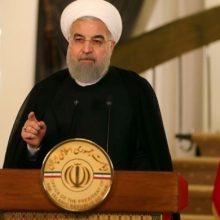 حسن روحانی طی سخنانی در واکنش به خروج آمریکا از برجام با بیان اینکه امشب شاهد یک تجربه مهم تاریخی بودیم، اظهار کرد: همان سخنی که از ۴۰ سال پیش آن را تکرار کرده