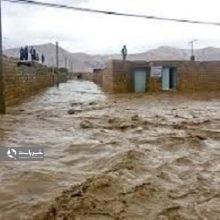 سیلاب و رانش زمین در گیلان