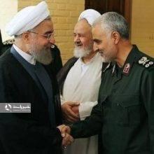 سردار سلیمانی خطاب به آمریکا :طرف حساب شما من هستم/شان رئیس جمهور ما نیست جواب تو را بدهد