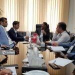 نشست رییس شورای اسلامی شهر رشت با معاون زیربنایی سازمان برنامه و بودجه : ساماندهی فاضلاب رشت