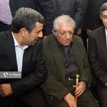 ماجرای سوءاستفاده تاریخی احمدی نژاد و مشایی از عزت الله انتظامی