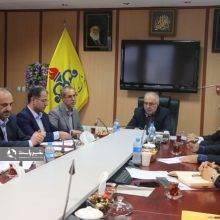 دیدار مسئولین سازمان فنی و حرفه ای با مدیرعامل گاز گیلان