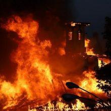 آتشسوزی مهیب انبار عطر و ادکلن در رشت
