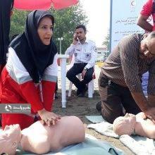 صبح امروز ارائه آموزش همگانی پایه پیشگیری از غرق شدگی و CPR در مجتمع کاسپین بندر انزلی برگزار شد.