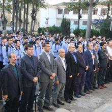 زنگ مهر و مقاومت در دبیرستان شهید بهشتی رشت