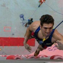 رضا علیپور سریعترین مرد عمودی جهان در آخرین مرحله جام جهانی سنگ نوردی ماده سرعت به مدال برنز رسید.