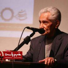 استاد سمیعی گیلانی، صاحب قلم برتر در چهارمین دورۀ جشنواره نشان دهخدا شد
