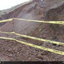 رانش کوه در دیلمان و قطعی گاز 8 روستا