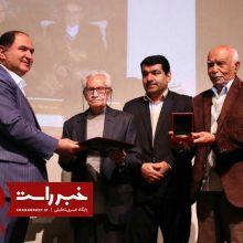 گزارش تصویری/ مراسم اهداء نخستین جایزه ادبیات دستور زبان فارسی استاد فرض پور