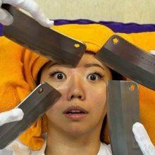 ماساژ چاقو در تایوان! + تصاویر