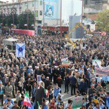 گزارش تصویری راهپیمایی ۱۳ آبان روز ملی مبارزه با استکبار جهانی