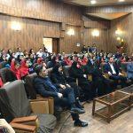 مراسم اختتامیه لیگ بانوان استان گیلان و تجلیل از تیم مینی بسکتبال گیلان برگزار شد