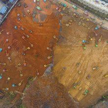 تصاویر : ساخت بیمارستان هزار تختخوابی در ۱۰ روز