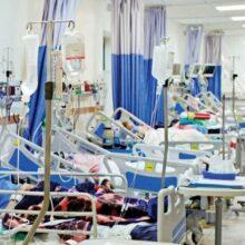تعداد بستریها در مراکز درمانی و بیمارستانهای گیلان همچنان چهار رقمی است