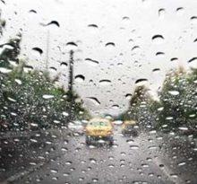 هوای گیلان بارانی میشود