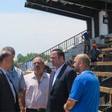 رییس هیأت مدیره سازمان منطقه آزاد انزلی در بازدید از طرح توسعه مجموعه ورزشهای ساحلی شمال قایقران با بیان اینکه این مجموعه ورزشی آماده بهره برداری کامل است