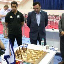 درسومین دوررقابت های بین المللی شطرنج جام ستارگان که در منطقه آزاد انزلی در حال بر گزاریست مسعود مصدق پور استاد بین المللی شطرنج کشورمان توانست