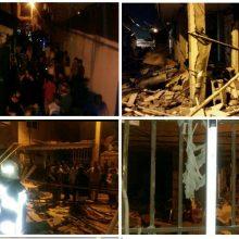 بابک رمضانی گفت:حادثه انفجار گاز در منزل مسکونی و تخریب چندین باب خانه، ساعت 20 دقیقه بامداد امروز به مرکز ستاد فرماندهی و کنترل آتش نشانی اطلاع داده شد.