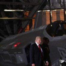 """، رئیسجمهوری آمریکا در جریان این سخنرانی در پایگاه نیروهوایی """"جویت بیس اندروز"""" در حومه واشنگتن اعلام کرد که گزینههای پاسخ نظامی آمریکا به بحران کره شمالی"""