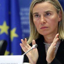 در جلسه پارلمان اروپا درباره وضعیت کره شمالی گفت: روشن است که حمایتی که ما از اجرای کامل توافق هستهای با ایران کردیم و به آن ادامه میدهیم
